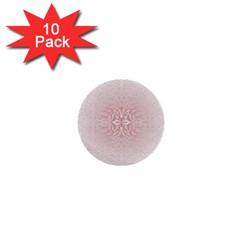 Elegant Damask 1  Mini Button (10 Pack)