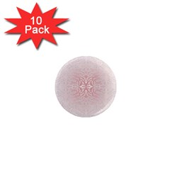 Elegant Damask 1  Mini Button Magnet (10 Pack)