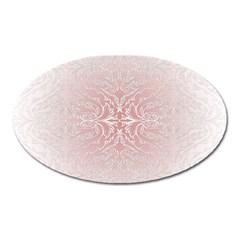 Elegant Damask Magnet (Oval)