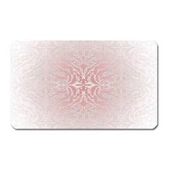 Elegant Damask Magnet (rectangular)