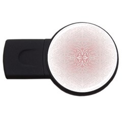 Elegant Damask 1GB USB Flash Drive (Round)