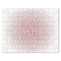 Elegant Damask Jigsaw Puzzle (Rectangle)