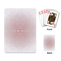 Elegant Damask Playing Cards Single Design