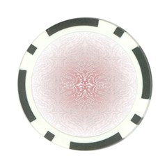 Elegant Damask Poker Chip 10 Pack