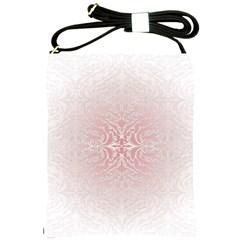 Elegant Damask Shoulder Sling Bag
