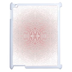 Elegant Damask Apple iPad 2 Case (White)
