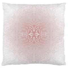 Elegant Damask Large Cushion Case (One Side)
