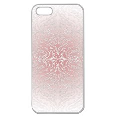 Elegant Damask Apple Seamless iPhone 5 Case (Clear)