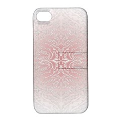 Elegant Damask Apple iPhone 4/4S Hardshell Case with Stand