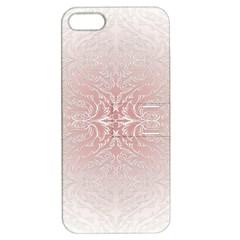 Elegant Damask Apple Iphone 5 Hardshell Case With Stand