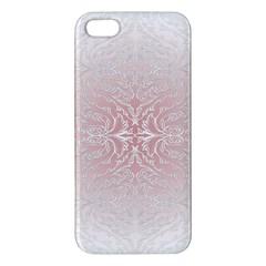 Elegant Damask iPhone 5 Premium Hardshell Case