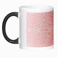 Pink Elegant Damask Morph Mug