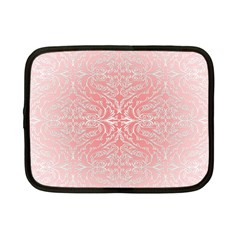 Pink Elegant Damask Netbook Case (Small)