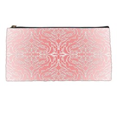 Pink Elegant Damask Pencil Case