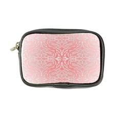 Pink Elegant Damask Coin Purse