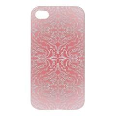 Pink Elegant Damask Apple iPhone 4/4S Hardshell Case