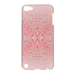 Pink Elegant Damask Apple iPod Touch 5 Hardshell Case