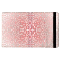 Pink Elegant Damask Apple iPad 2 Flip Case