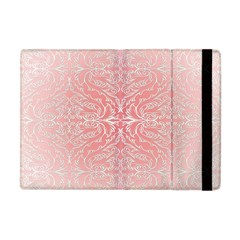 Pink Elegant Damask Apple iPad Mini Flip Case