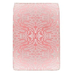 Pink Elegant Damask Removable Flap Cover (Small)