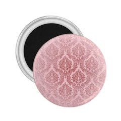 Luxury Pink Damask 2.25  Button Magnet