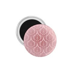 Luxury Pink Damask 1.75  Button Magnet