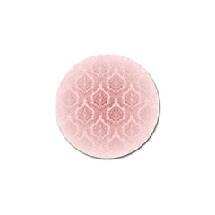 Luxury Pink Damask Golf Ball Marker