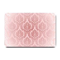 Luxury Pink Damask Small Door Mat