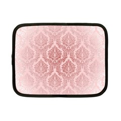 Luxury Pink Damask Netbook Case (Small)
