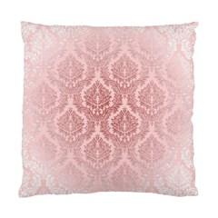Luxury Pink Damask Cushion Case (two Sides)