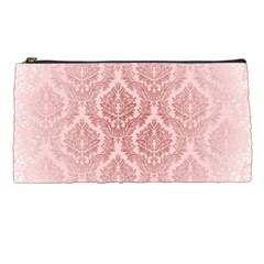 Luxury Pink Damask Pencil Case