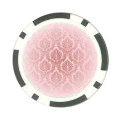 Luxury Pink Damask Poker Chip 10 Pack