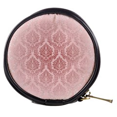 Luxury Pink Damask Mini Makeup Case