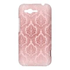 Luxury Pink Damask HTC Rhyme Hardshell Case