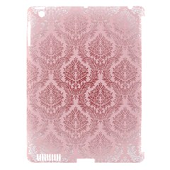 Luxury Pink Damask Apple iPad 3/4 Hardshell Case (Compatible with Smart Cover)