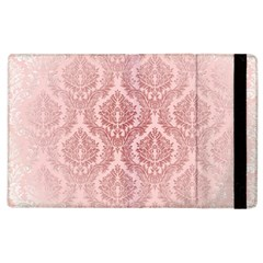 Luxury Pink Damask Apple Ipad 3/4 Flip Case