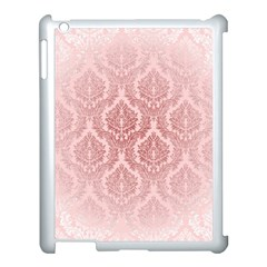 Luxury Pink Damask Apple Ipad 3/4 Case (white)