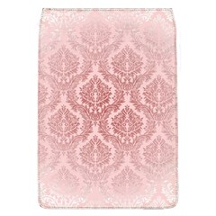 Luxury Pink Damask Removable Flap Cover (large)