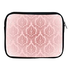 Luxury Pink Damask Apple Ipad 2/3/4 Zipper Case