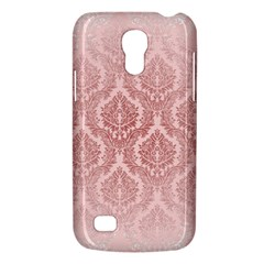 Luxury Pink Damask Samsung Galaxy S4 Mini Hardshell Case