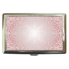 Pink Damask Cigarette Money Case