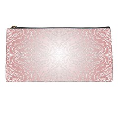Pink Damask Pencil Case