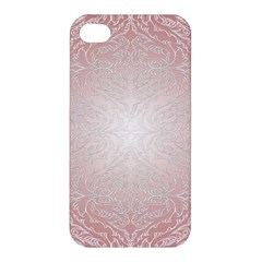Pink Damask Apple iPhone 4/4S Hardshell Case