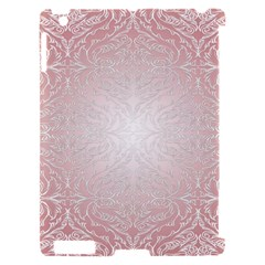 Pink Damask Apple iPad 2 Hardshell Case (Compatible with Smart Cover)