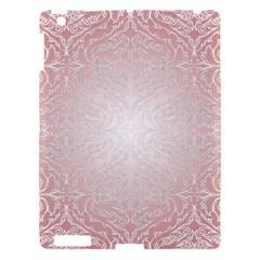 Pink Damask Apple iPad 3/4 Hardshell Case