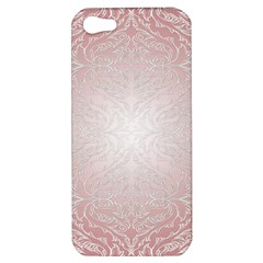 Pink Damask Apple iPhone 5 Hardshell Case