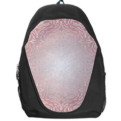 Pink Damask Backpack Bag
