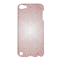 Pink Damask Apple Ipod Touch 5 Hardshell Case