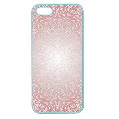 Pink Damask Apple Seamless iPhone 5 Case (Color)