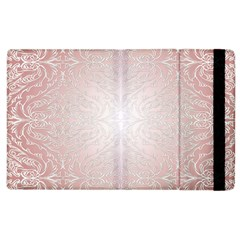 Pink Damask Apple iPad 3/4 Flip Case